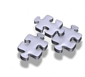 Jigsaw Puzzle Pieces: Metaphor